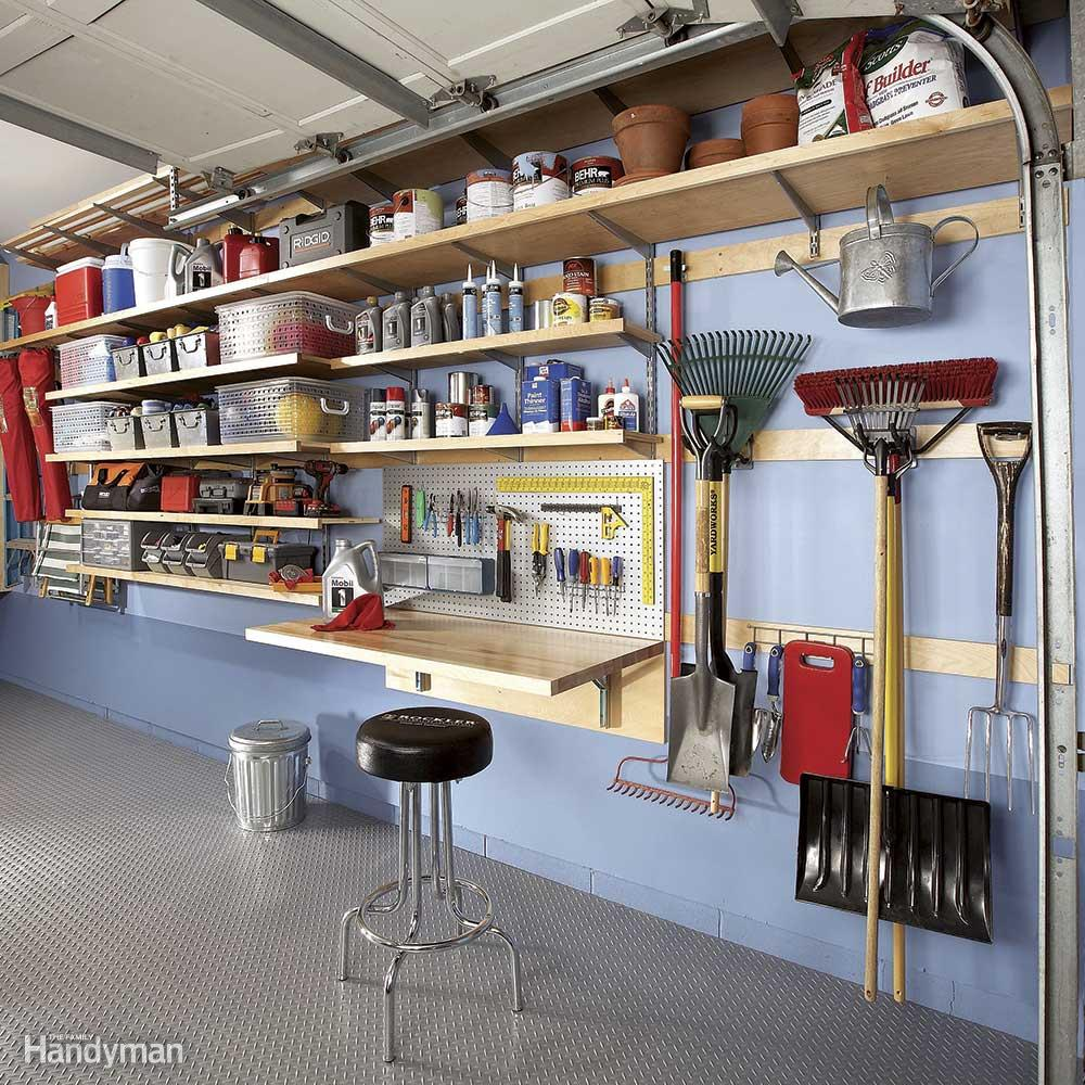 Ten Tips for Safe Storage of Chemicals in the Garage